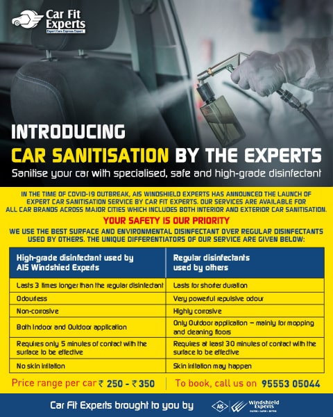 Car sanitization